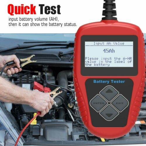 Quicklynks BA101 Auto 12V Car Battery Tester Battery Life Analysis Test Results
