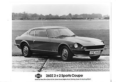 """Bello Datsun 260z 2 +2 Sport Coupe Originale Stampa Foto """"opuscolo"""" Correlati-"""