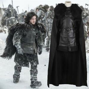 Game-of-Thrones-King-in-the-North-Jon-Snow-Costume-Full-Set-Cosplay-Uniform-Gift