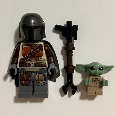 1Pcs Baby Yoda Star Wars Lego Minifigures Building Blocks Toys