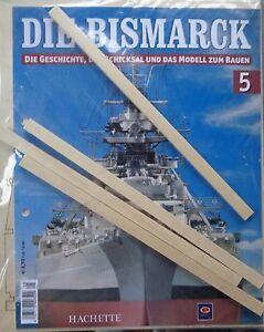 Das Bild Wird Geladen Bismarck Ausgabe 5 Hachette Die Geschichte Und Modell