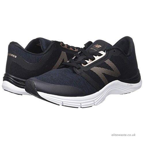 New Balance 715 Femmes Chaussures De Course Gym Entraînement Fitness Baskets Noir Taille 5