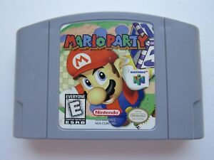 Details about OEM Mario Party 1 Nintendo 64 N64 Authentic Video Game Cart  Super Rare Fun GOOD!