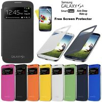 New Slim S View Flip Smart Case Battery Cover For Samsung Galaxy S4 & S4 Mini