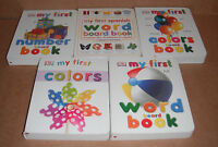 Lot Of 5 My 1st Board Books By Dorling Kindersley Publishing Staff