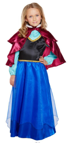 Girls Princess Fancy Dress Child Costume Party Outfit Ages 4-12 World Book Day