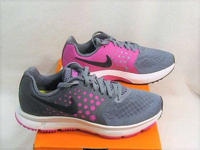 Nike Zoom Span Running Shoes ~ Women's Size 6 1/2 ~ Cool Grey & Pink  NEW in Box