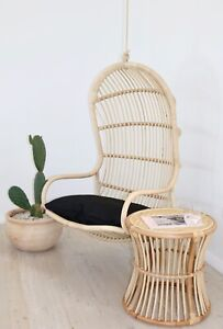 Sunday Hanging Natural Rattan Chair Hanging Egg Chair Ebay