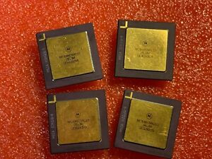 8Pcs-x-MC68605RC10-MOTOROLA-MC68605-GOLD-PGA-VINTAGE