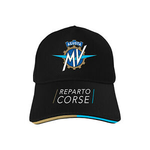 GENUINE-MV-AGUSTA-REPARTO-CORSE-PIPING-BASEBALL-CAP-HAT-2019