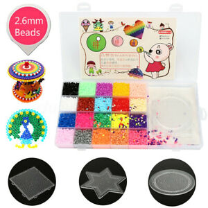 2-6mm-Mixte-Perler-Hama-Perles-a-Repasser-3Pcs-Plaque-Fusible-Creatif