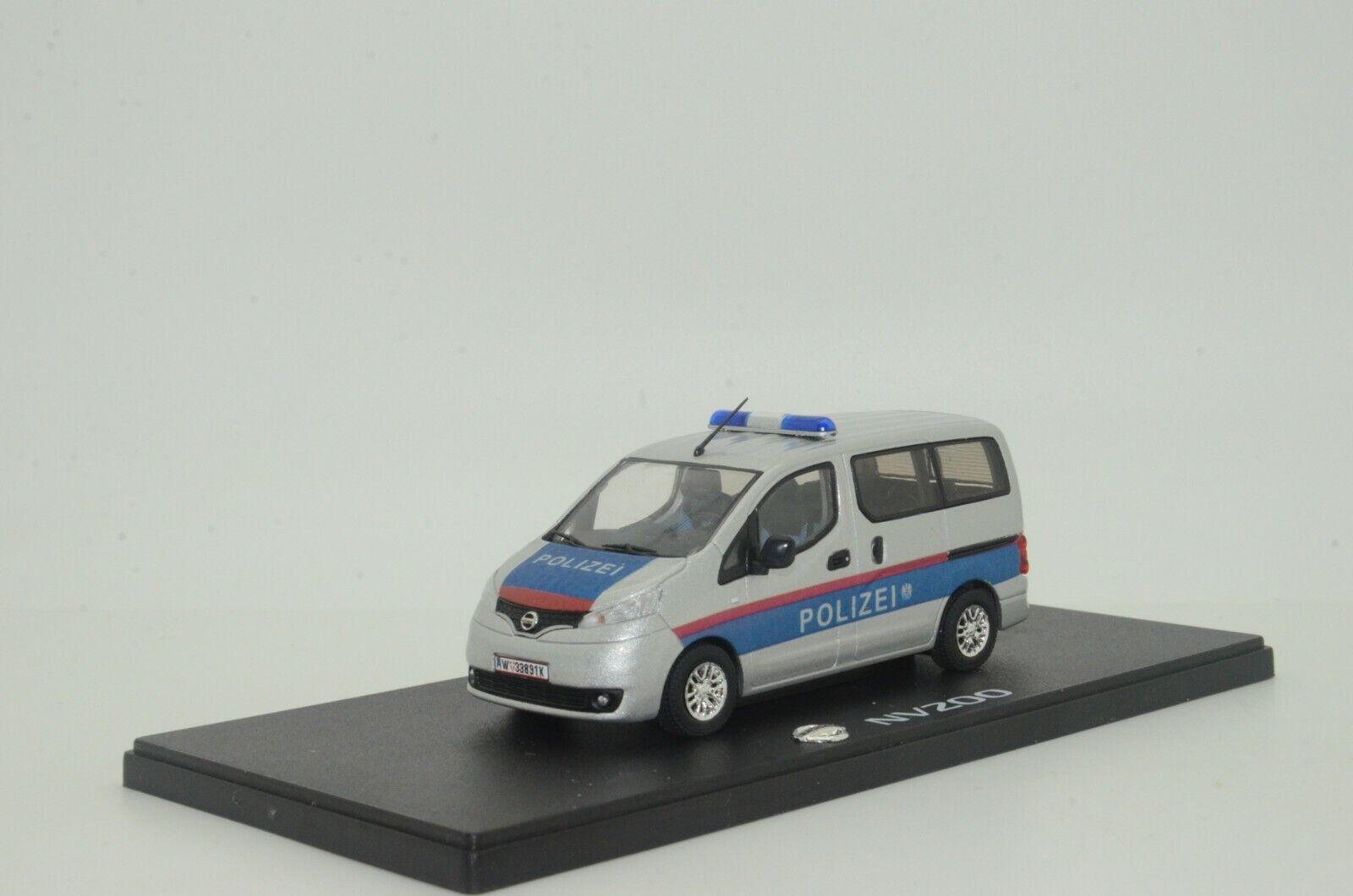 rara    Nissan NV200 Austria Polizei Policía Coche Hecho a Medida 1 43