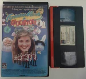 VHS IL FANTASTICO MONDO DEI GIOCATTOLI di Clive Donner [RCA]   eBay