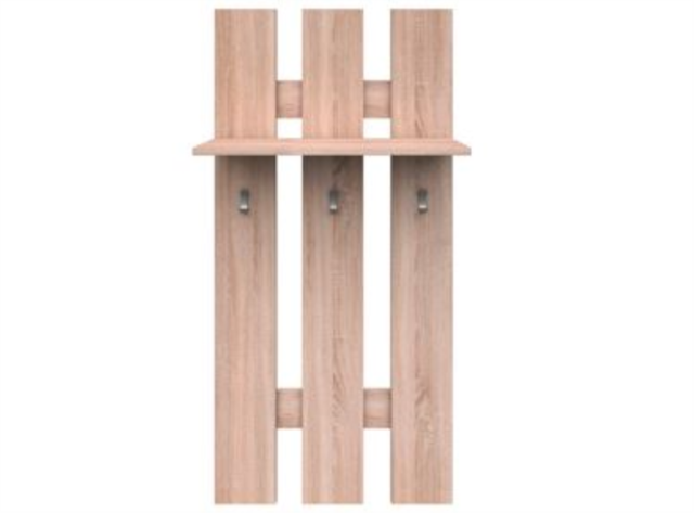 Hallway Furniture Set Wall Coat Hanger And Shoe Cabinet Sonoma Smart Unique Sonoma Coat Rack