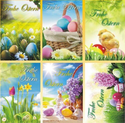 50/100 Osterkarten Ostern Osterkarte Grußkarten Glückwunschkarten 133110 HI