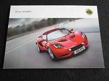 2010 2011 Lotus Evora Elise Exige Esprit Elan Elite Postcard Set Sales Brochure