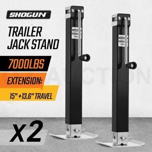 2x-Trailer-Part-Caravan-Jack-Stand-3175kg-Heavy-Duty-Extendable-Solid-Weld-Leg
