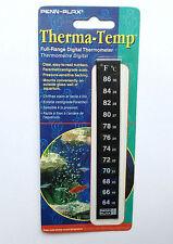 Penn-Plax gamma completa di termometro digitale, montare all'esterno dell'acquario