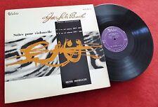 Bach: Cello Suites Nos. 1 & 2 - Henri Honegger **Valois MB 422 French LP**