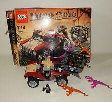 Jouet LEGO DINO 2010 décor boite 7296 Dinosaure presque Complet