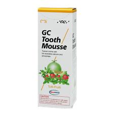 Dental GC Tooth Mousse 40g Tutti-Frutti - 1 Pcs - Free Shipping exp 2018