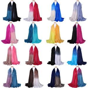 Women-Muslim-Islamic-Gradient-Glitter-Long-Hijab-Scarf-Shawl-Wrap-Pashmina-Stole