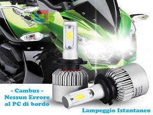 Kawasaki z750 lampade anabbaglianti abbaglianti led lampeggio