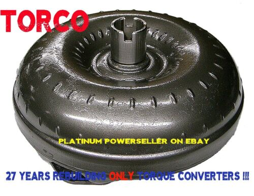 "TH350 Stock Torque Converter 12/"" Chevy with 1 year warranty"