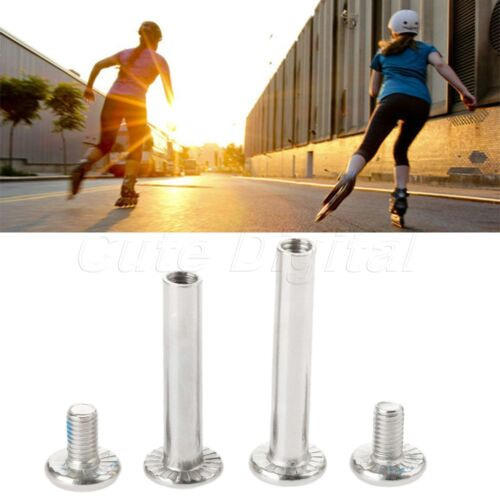"""10Pc Inline Skate Wheel Nail Replacement Roller Skate Part Axle Screw 1.22//1.42/"""""""