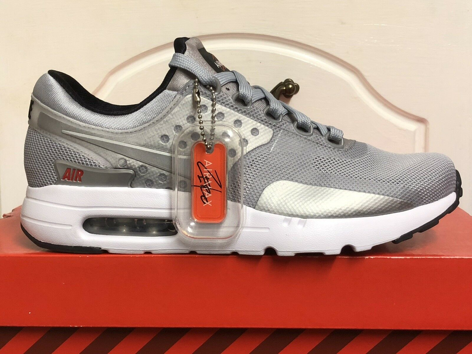 NIKE AIR MAX ZERO QS MENS TRAINERS TRAINERS TRAINERS SNEAKERS SHOES US 7 a810af