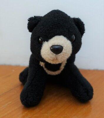 Sunbear Stuffed Animal, Wild Republic Black Sun Bear Plush Toy 13cm Ebay