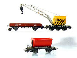 Marklin-4671-4423-4513-h0-utilitaires-Niederbord-voiture-Benne
