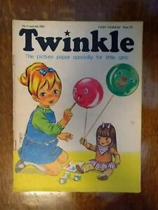 TWINKLE COMIC NO.11 6TH APRIL 1968 RARE EARLY EDITION