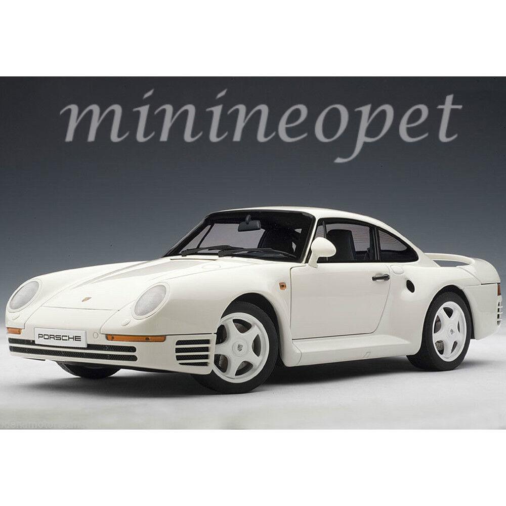 Autoart 78083 porsche 959 1   18 ein diecast modell auto weiß