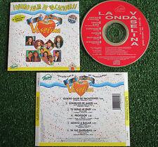 ONDA VASELINA **Quiero salir de vacaciones** RARE 1993 Spain CD OV7 Timbiriche