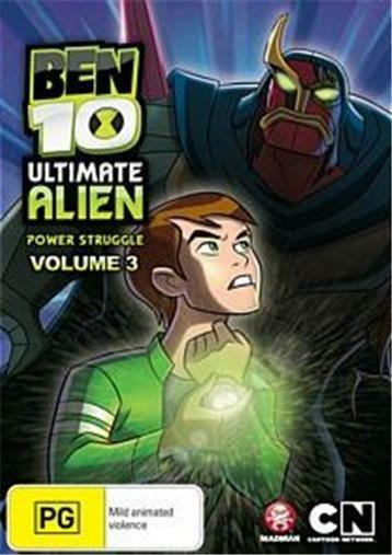 BEN 10 Ultimate Alien Volume 3 : NEW DVD