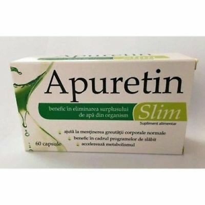 Apuretin Slim, 60 capsule, Zdrovit : Bebe Tei