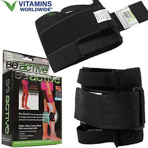 KNEE BRACE ACUPRESSURE Support Leg Hip Sciatica Wrap Lower ...