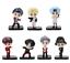 miniature 6 - 7pcs/set BTS RM Jin Suga JHope Jimin V Jungkook Doll Toy figure BANGTAN butter
