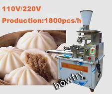 Automatic electric steamed stuffed bun machine,Production 1800PCS/H