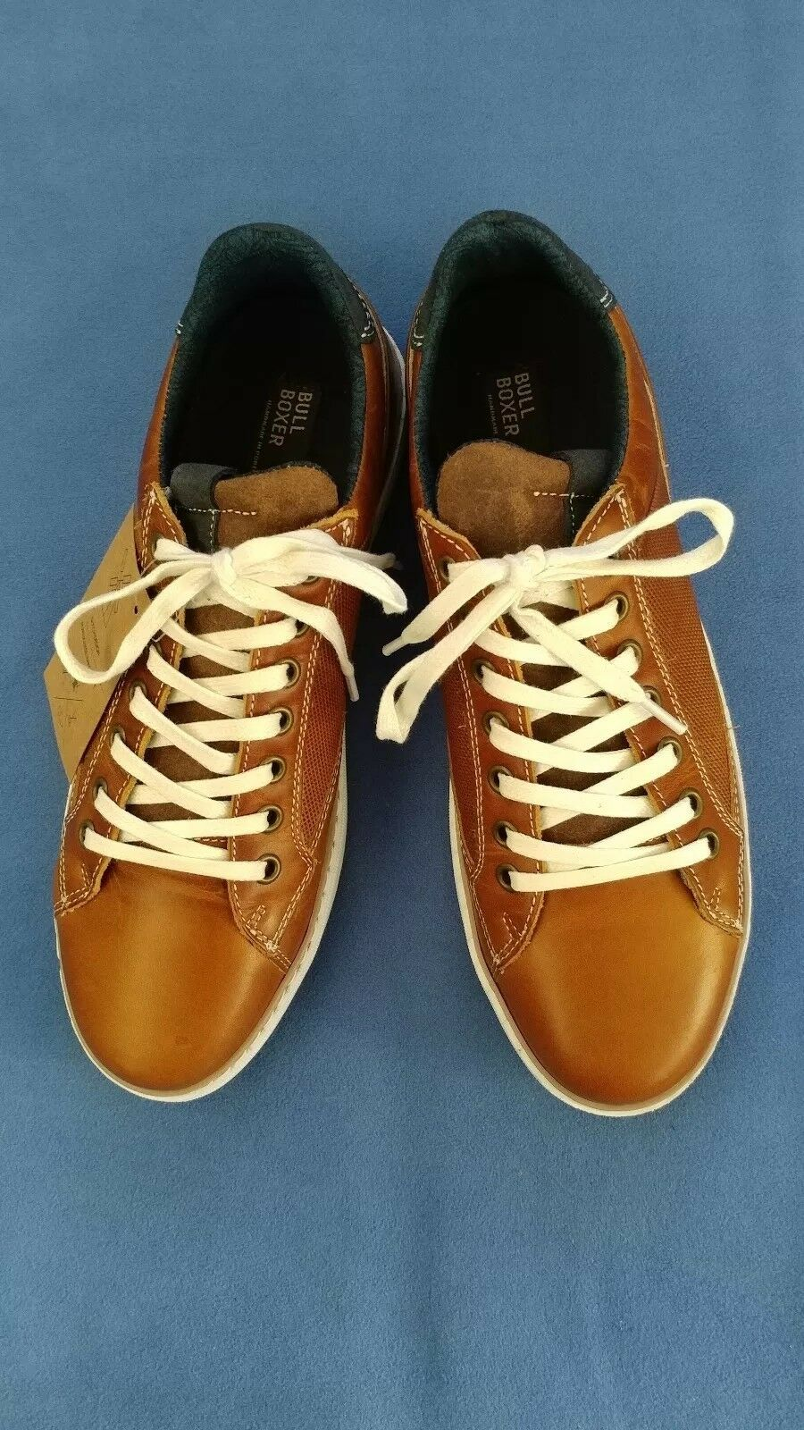 Bullboxer Mens Brown Mordecai Casual Sneaker 10M Handcrafted in Portugal NWOB