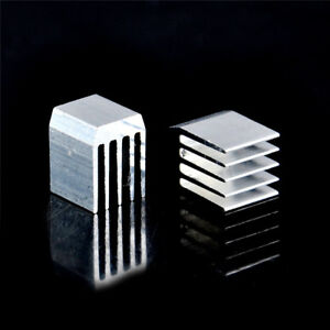 10pcs-Aluminum-Cooling-9x9x12MM-Heat-Sink-RAM-Radiator-Heatsink-Cooler-CWICQ6Q
