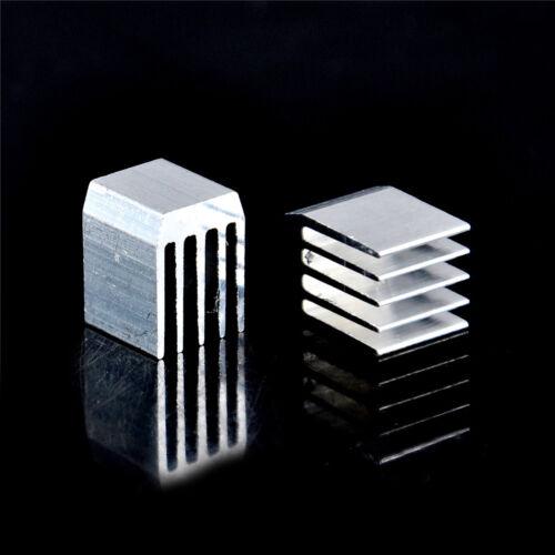 10Pcs Aluminum Cooling 9x9x12MM Heat Sink RAM Radiator Heatsink Cooler P FO