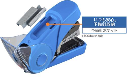MAX SAKURI FLAT 32 Stapler HD-10FL3K Light Green Japan free ship