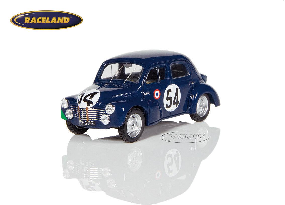 Renault 4cv 750cc 26 ° le mans 1951 lecat Senftleben, Spark 1 43, s5211