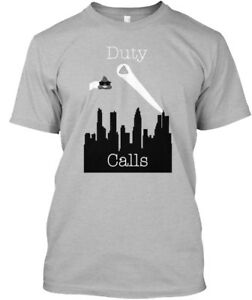 Details about Printed Duty Is Calling Me To India! - Calls Standard  Standard Unisex T-shirt