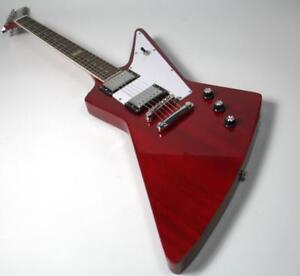 120-Anniversary-EX-Style-Electric-Guitar-Mahogany-Body-White-Pickguard
