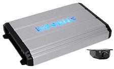 Hifonics Zeus ZXX-2400.1D 2400W RMS Mono Block Class D Car Amplifier+Bass Remote