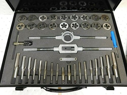 Interstate 1//8-27 to 3//4-16 Tap NPT UNC UNF Tap and Die Set 63328470