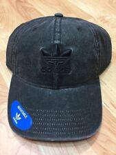 item 4 New Adidas Men s Originals Relaxed Fit Strapback Black  Black Cap  OSFA -New Adidas Men s Originals Relaxed Fit Strapback Black  Black Cap OSFA 8e96af2145f